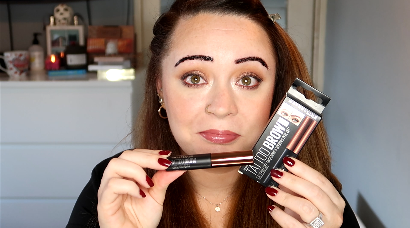 Maybelline tattoo brow demo irish beauty blog beautynook for Maybeline tattoo brow